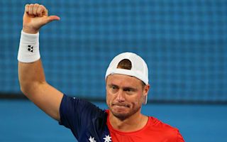 Inspirational Hewitt gets Australia Gold on the board at Hopman Cup