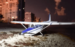 Plane makes 'miracle' crash-landing on Florida beach packed with tourists