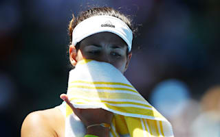 Muguruza withdraws in Dubai due to Achilles injury