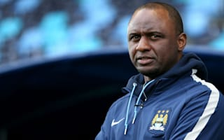 Don't expect flood of young talent at Manchester City, says Vieira