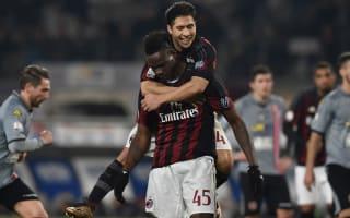 Alessandria 0 AC Milan 1: Balotelli bags first-leg advantage