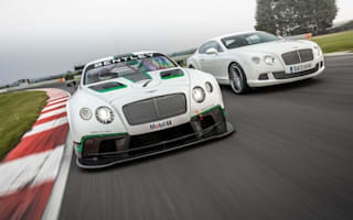 Bentley Continental GT3 ready for race debut