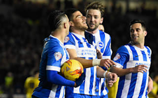 Brighton and Hove Albion 4 Leeds United 0: Promotion-chasers humiliate Evans' men