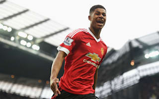 Rashford starts Manchester derby for United, Gabriel Jesus on City bench