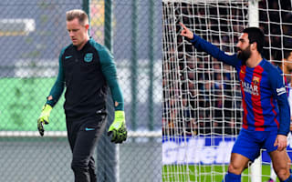 Hairy times for Arda and Ter Stegen after Champions League wager