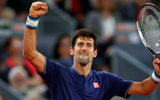 Fired-up Djokovic downs Lopez to reach Madrid quarter-finals