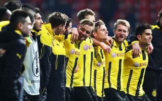 Business-like Dortmund satisfied with Pokal progress
