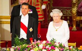 Love song played to president of Mexico at Buckingham Palace banquet