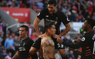 Stoke City 1 Liverpool 2: Coutinho and Firmino shine in comeback win