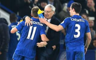 Ranieri: Beating West Ham my best moment of 2016!
