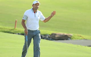 Garcia and Molinari share Dubai lead