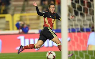Belgium 4 Bosnia-Herzegovina 0: Hazard on target in comfortable win