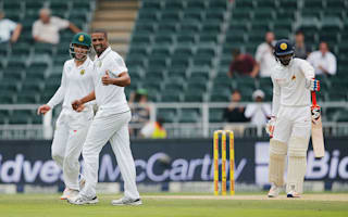 Proteas in charge as wickets tumble on day two