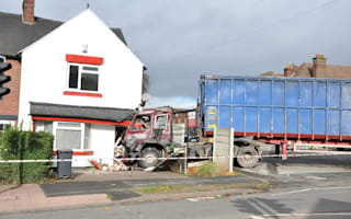HGV driver has the day from hell