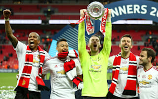 De Gea dedicates FA Cup win to United fans