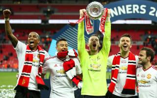 De Gea dedicates FA Cup win to United fans