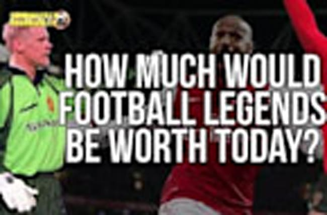 How much would football legends be worth today?