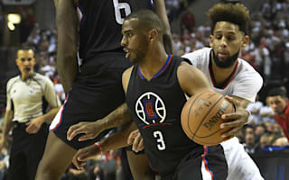 Paul fractures hand as Clippers lose, Thunder win Mavs series 4-1