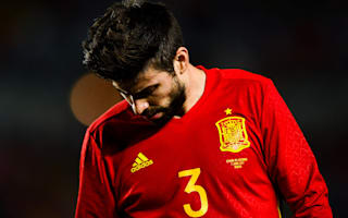 Angry Pique blames media for latest whistles