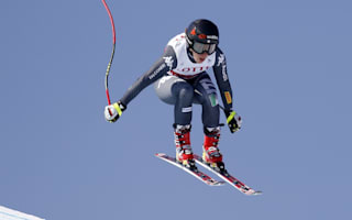 Goggia upstages Vonn to win downhill title at Olympics test event