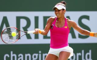 Watson, Cibulkova advance to second round at Indian Wells