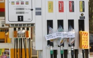 No fuel strike, just a shortage