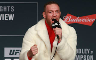 McGregor hits back at Mayweather on social media
