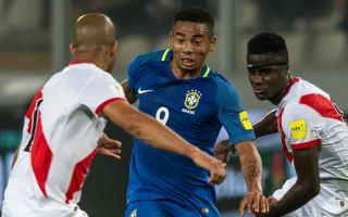 Peru 0 Brazil 2: Jesus inspires Tite's men to sixth successive win