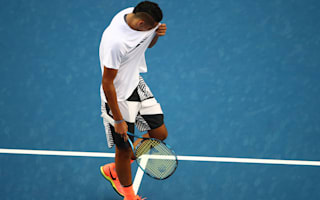 Time for action, not words, for Kyrgios