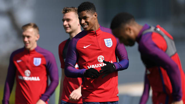 Marcus Rashford: Manchester United captain Wayne Rooney has inspired me
