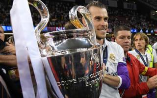 Bale 'happy' at Madrid amid Man United links