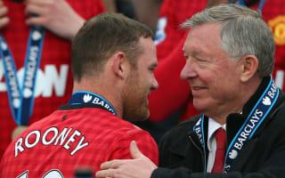 Charlton, Ferguson hail 'true great' Rooney