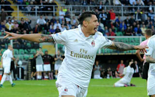 Palermo 1 AC Milan 2: Lapadula's first Rossoneri goal snatches points