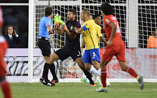 Brazil 0 Peru 1: Controversial goal condemns Dunga's men to group-stage exit