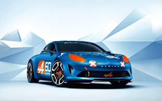 Renault Alpine Concept unveiled at Le Mans 24hr
