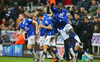 Newcastle United 0 Everton 1: Cleverley seals last-gasp win