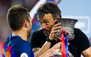 Luis Enrique confident as Barca begin quest for three in row