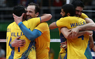Rio 2016: Brazil to meet Italy in men's volleyball final