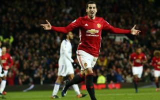 Mourinho hails Mkhitaryan: He feels the love of Old Trafford now