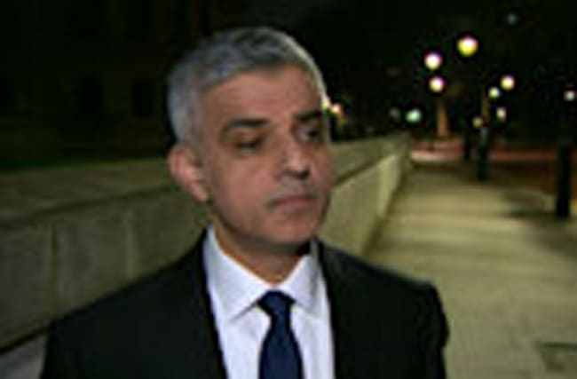"London mayor Khan vows ""we won't be cowed by terrorists"""