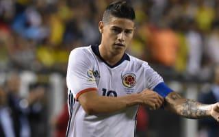 Colombia name squad for Venezuela, Brazil qualifiers