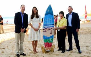 Kate Middleton hits the beach on Royal Tour of Australia