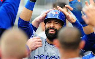 Bautista gets best of unwritten rules as Blue Jays rout Braves