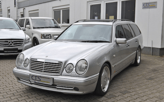 Mercedes E55 AMG Estate once owned by Schumacher goes on sale