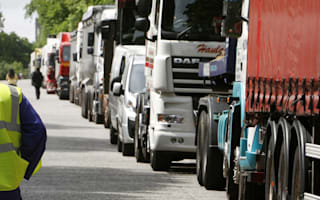 Sleeping truckers could face £300 wake-up call