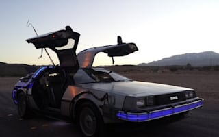Authentic Back To The Future DeLorean spotted for sale
