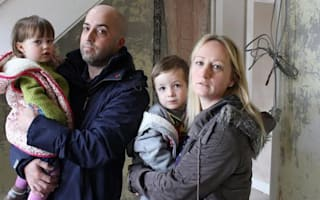 Family forced out of home by cowboy builder