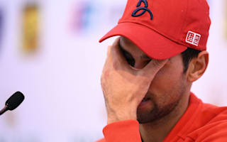 Exhausted Djokovic frustrated after Shanghai loss