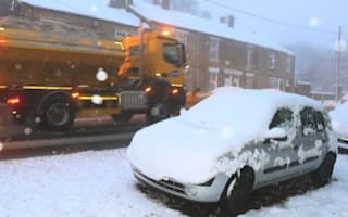Severe weather alert for drivers as Scotland and northern England hit by snow