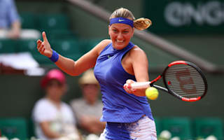 Kvitova victorious in hugely impressive comeback